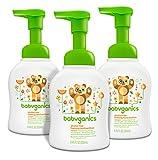 #7: Babyganics Alcohol-Free Foaming Hand Sanitizer, Mandarin, 8.45oz Pump Bottle (Pack of 3)
