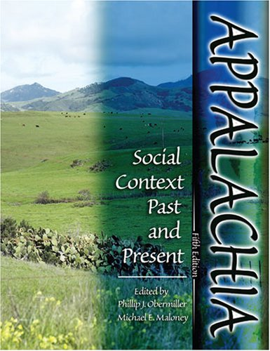Appalachia: Social Context Past and Present