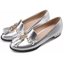 Tassel sole shoes, metal color tassels, sole shoes, women's sole shoes-YU&XIN