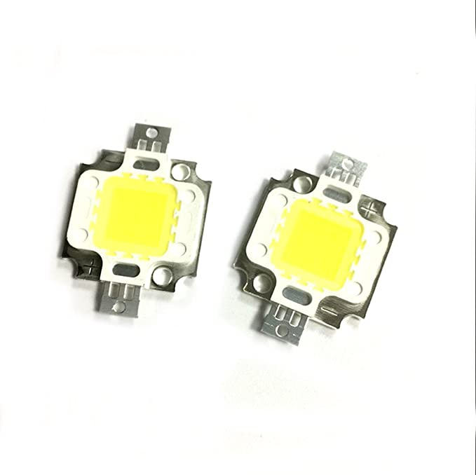 8pcs 10W Blanc Froid 6000K haute puissance lampe LED Light Ampoule de spot 900LM DIY