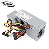 S-Union FR610 WU136 PW116 67T67 RM112 R224M 235W Power Supply for Dell Optiplex 760, 960 780 580 SFF Systems, Model Numbers H235P-00 L235P-01 L235P-00 H235E-00 F235E-00 L235ES-00