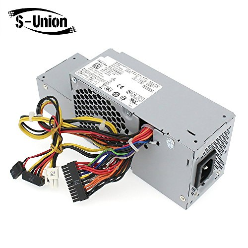 S-Union FR610 WU136 PW116 67T67 RM112 R224M 235W Power Supply for Dell Optiplex 760, 960 780 580 SFF Systems, Model Numbers H235P-00 L235P-01 L235P-00 H235E-00 F235E-00 L235ES-00 by S-Union