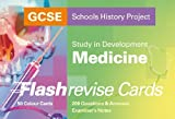 GCSE SHP Study in Development - Medicine Flash Revise Cards