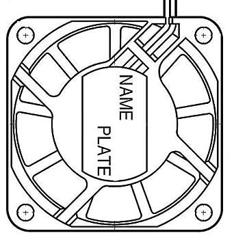 Amazon Com Nmb Technologies 2406kl 05w B30 L00 Axial Fan 60mm