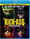 Cover Image for 'Kick-Ass (Two-Disc Blu-ray/DVD Combo Pack + Digital Copy) [blu-ray]'