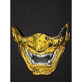 Custom Halloween Costume Cosplay BB Gun Hanya Kabuki Airsoft Mask worn look MA133 am