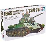 Tamiya 35059 1/35 Scale Russian T34/76 1943 Tank Kit - CA159 Model