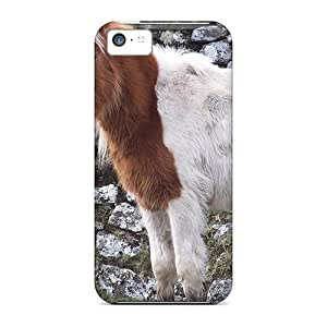 Cynthaskey UQbpslc4002mjYYw Case For Iphone 5c With Nice Moorl Pony Appearance