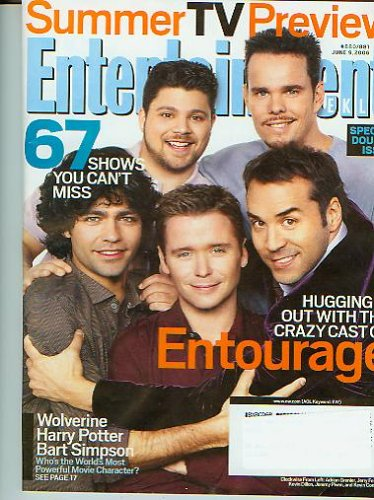 Entertainment Weekly June 9, 2006 Entourage Adrian Grenier, Jerry Ferrara, Kevin Dillon, Jeremy Piven, and Kevin Connolly - Jeremy Movies Pivens
