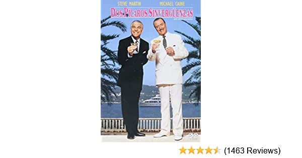 Amazon.com: Dirty Rotten Scoundrels (1988) (Dos Pícaros Sinvergüenzas) [ NON-USA FORMAT, NTSC, Reg.4 Import - Latin America ]: Michael Caine, Steve Martin, ...