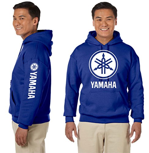 Yamaha Hooded Sweatshirt Motorcycles Racing Bikes JDM, used for sale  Delivered anywhere in USA
