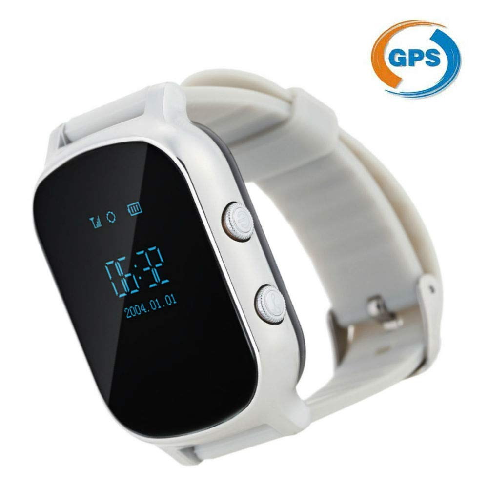 Amazon.com: yiting GPS Tracker Smart Watch GPS+WiFi+LBS GPS ...