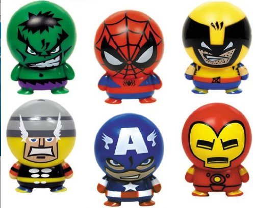 Marvel Heroes Buildables - Series 1 - Set of 6