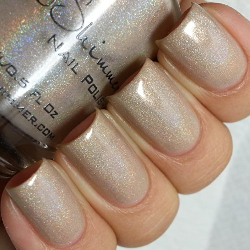 In Bare Form Holographic Nail Polish- 0.5 oz Full Sized Bott