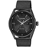 Men's Drive from Citizen Eco-Drive CTO Blackout Stainless Steel Watch BM6988-57E