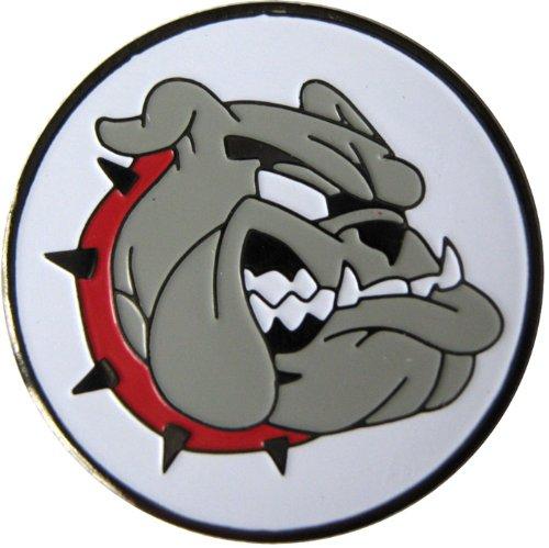 Bulldog Golf Ball Marker and Matching Hat (Animal Golf Ball Marker)
