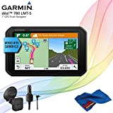 Garmin dezl 780 LMT-S Advanced GPS for Trucks + Cleaning Cloth