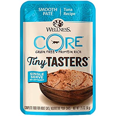 Wellness New Core Natural Grain Free Tiny Tasters, Tuna, 1.75 oz (Pack of 12), 16106