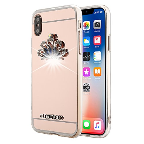 (Scheam Ultra-Lightweight Thin Huawei Honor V10 TPU Protects Protective Case Skin TPU Protects For Huawei Honor V10 TPU (Crown ))