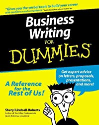 Business Writing For DummiesÂ