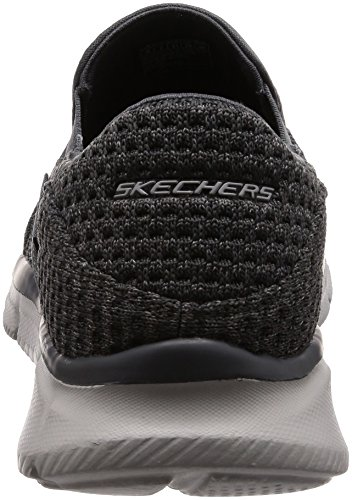 Equalizer Mocasines Skechers Charcoal Hombre para Slickster Gris w177xq