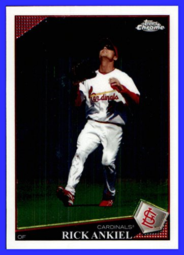 (2009 Topps Chrome #161 Rick Ankiel ST. LOUIS CARDINALS as an outfielder)