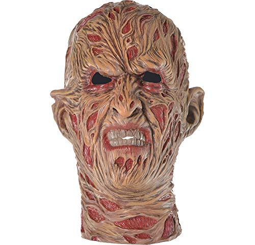 Suit Yourself A Nightmare on Elm Street Freddy Krueger Mask for Adults, One Size, Latex with Signature Burn Scars