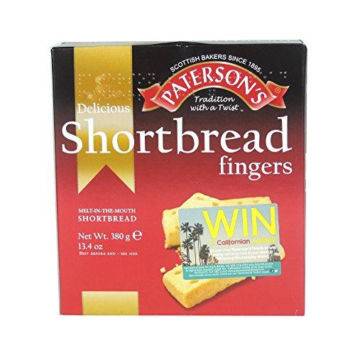 Paterson's - Shortbread Fingers - 380g (Case of 7) Shortbread Fingers