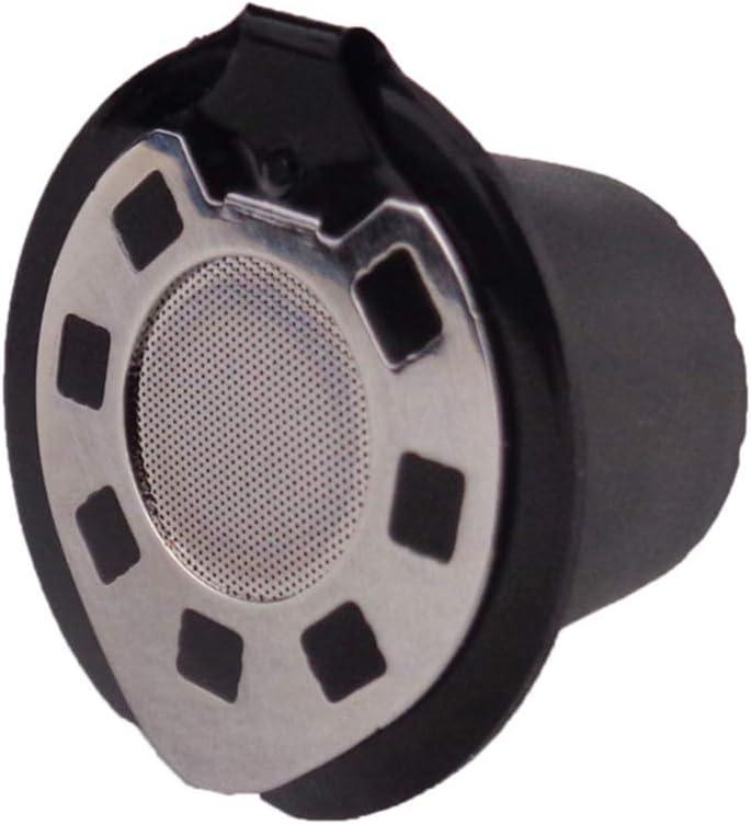 DOITOOL 5 pz capsule di caff/è riutilizzabili capsule ricaricabili cialde tazza filtro caff/è capsule compatibili per macchine nespresso cromato
