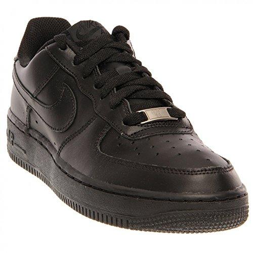 Nike Air Force 1 Gs Pour Enfants Unisexe Chaussure Faible Dessus De Noir (noir / Multi-couleur)