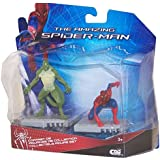 The Amazing Spider-Man Series 1 Spider-Man Kneeling & The Lizard 2.5 inch Action Figure 2-Pack
