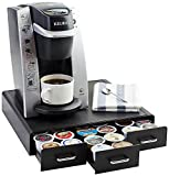 AmazonBasics Coffee Pod Storage Drawer for K-Cup