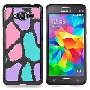 "Planetar ( Dulces para niños de cumpleaños rosada"" ) Samsung Galaxy Grand Prime SM-G530F G530FZ G530Y G530H G530FZ/DS Fundas Cover Cubre Hard Case Cover"