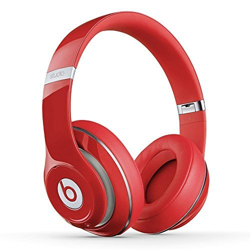 Beats Studio Wireless Over-Ear Headphone (Red)(Certified Refurbished) (Beats Wireless Over Ear)