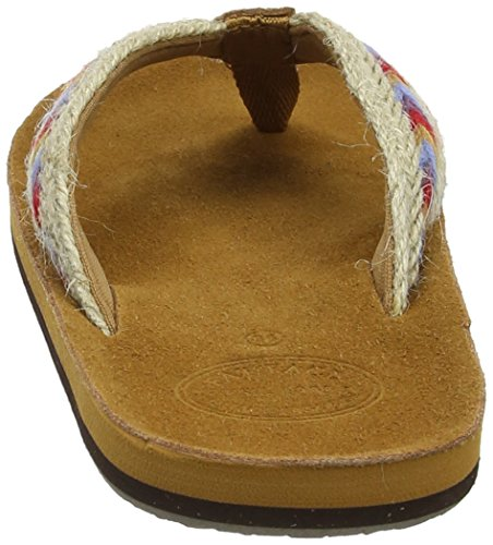 Fat Face Somerton Suede, Chanclas Para Mujer Brown (Tan Brn)