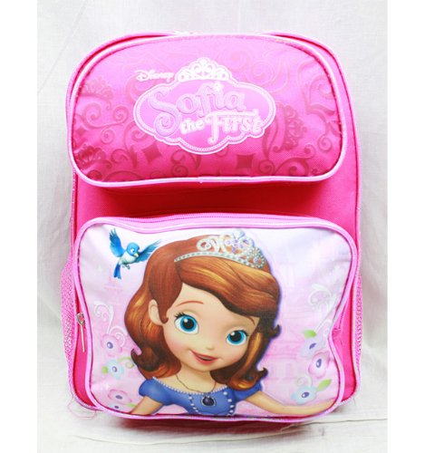 Disney Sofia the First 14 Medium School Backpack