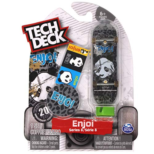 Tech Deck enjoi Skateboards Series 8 Thrashed Panda Cheetah