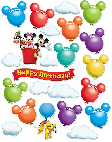 Eureka Mickey Mouse Clubhouse Birthday Bulletin Board Set (847625)