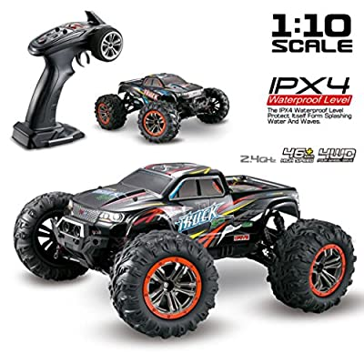 RC Car - Vanvler 1/10 Scale High Speed 46km/h 2.4Ghz 4WD Radio Controlled Off-road RC Car