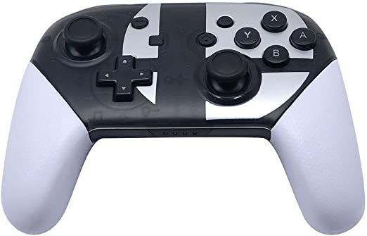 WTZFHF Gamepad, Switch Pro Controller, Controlador inalámbrico Compatible con Nintendo Switch Support Gyro Axis Dual Shock (Blanco y Negro) Regalo Sorpresa: Amazon.es: Jardín