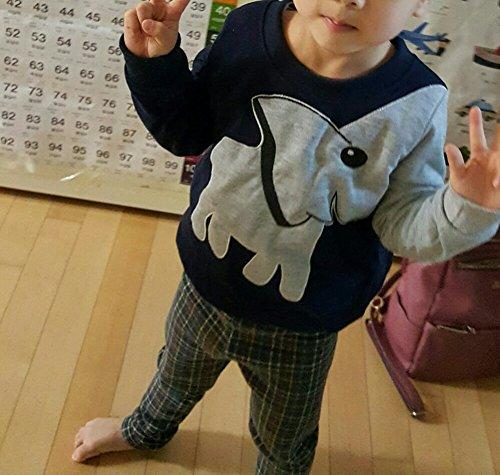 Jomago Boys Shirts Toddler Long Sleeve Top Kids Elephant Tee Toddler Sport Sweatshirt by Jomago (Image #6)