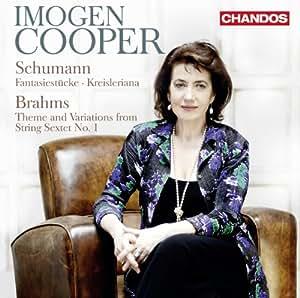 Imogen Cooper plays Schumann & Brahms Piano Works