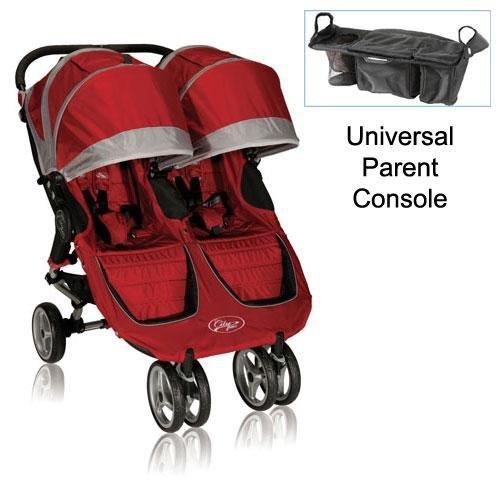 Baby Jogger 12236 City Mini Double Stroller In Crimson