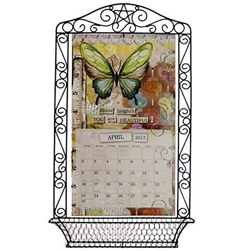 Wrought Iron Calendar Frame, Assorted Organization by Lang Companies