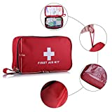 First aid Survival Kit (2018 New Version), 182 Pcs
