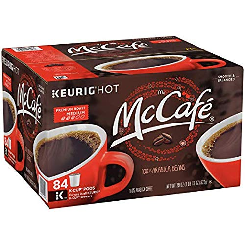 McCafe Premium Roast Keurig K Cup Coffee Pods (84 Count) (2 Pack)