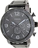 Fossil Men's JR1354 Nate Stainless Steel Chronograph Watch (Small Image)