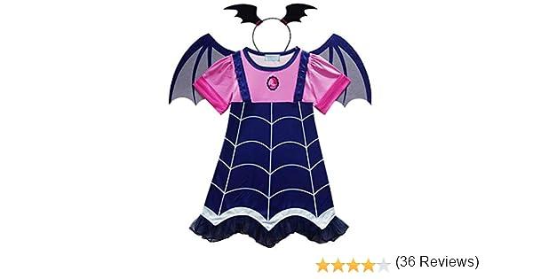Angel ZYJ Vampirina Disfraces Infantil Niña Princesa Trajes de ...
