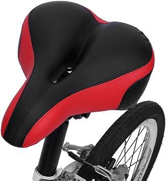 Sillín de bicicleta transpirable confortable, asiento bicicleta ...