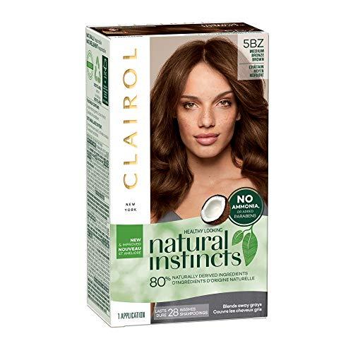 (Clairol Natural Instincts Hair Color - Medium Bronze Brown 5BZ)
